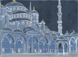 mosques at night3